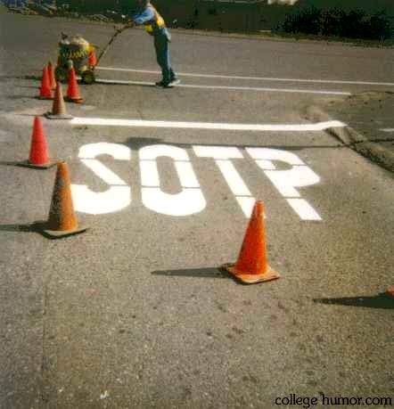 Get good! Screw something up!