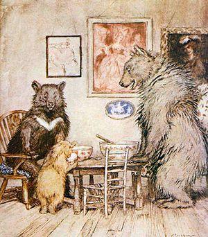 """The Three Bears"", Arthur Rackham's ..."