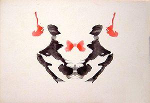 the third blot of the Rorschach inkblot test